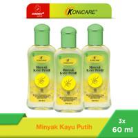 Konicare Minyak Kayu Putih 60 ml Paket 3 botol