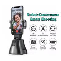 Robot Cameraman Auto Face Tracking Smart Shooting Camera Phone Holder
