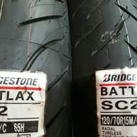 Ban battlax belakang xmax forza SC2 160/60-14