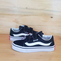 Sepatu anak laki laki dan perempuan vans OldSchool BW Clasic Size16-35