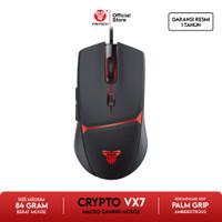 Fantech CRYPTO VX7 Mouse Gaming Macro - Hitam