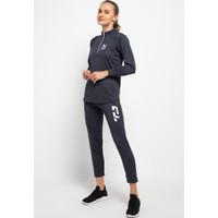 Td Active LS083 Baju Senam Training Olahraga Wanita Set Jaket Celana A - M