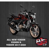 stiker striping list motor yamaha all new vixion r motif venom