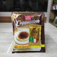 Kopi Torabika Cappuccino 25 gram (1 renceng isi 10 pcs)
