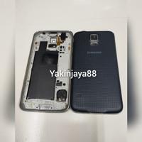 Casing Full Set Samsung S5 / Housing Full Set /Backdoor Tutup Belakang