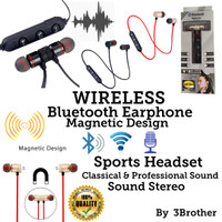 Headset Wireless JBL JB-09 Sport Magnet Earphone Professional Sound