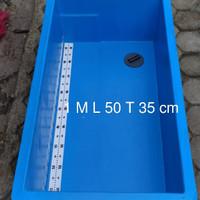 Bak fiber ikan koi 1 meter