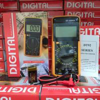 MULTITESTER DIGITAL DT 9205 A - AVOMETER MULTIMETER DT 9205A