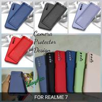 softcase realme 7 case anti noda silicon bahan lentur cover realme 7