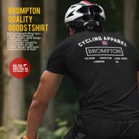 Kaos Sepeda Brompton Cycling Apparel DIstro T Shirt - S