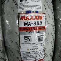 ban Motor Sport sepasang Maxxis MA-3DS uk 120/70-17 & 160/60-17 Import