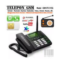 Telepon GSM Untuk Rumah/Kantor Support Kartu All Operator Gsm