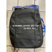 Sarung Jok Mobil Avanza 2012 Warna Hitam Bahan FULL M-btech