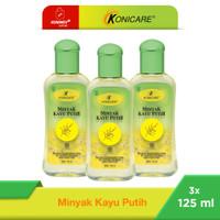 Konicare Minyak Kayu Putih 125 ml Paket 3 botol