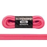 KipzKapz Shoelace - Tali Sepatu Fluorescent Oval 6mm Solar Pink 115cm