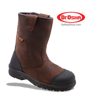Mustang Boot - 3373 - S1 - Brown - Dr.OSHA Safety Shoes - 36,Cokelat