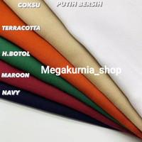 grosir kain drill bahan seragam, baju, celana, rok,topi dll