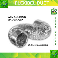 Flexibel Alumunium 6 inch 10 meter - Flexibel Duct hose ducting