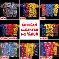 Baju Anak Setelan Anak Pakaian Anak KARAKTER 1-2 tahun