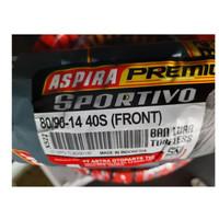 Ban motor 80 / 90 - 14 Front Aspira Premio Sportivo depan untuk motor