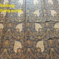 Kain batik solo kombinasi tulis badong kembang suruh sogan