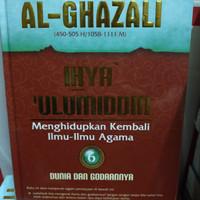 buku ihya ulumuddin al ghazali jilid 6 dunia dan godaanya