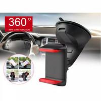 Car Holder Silicone Sucker / Holder HP Mobil Universal - Merah Muda