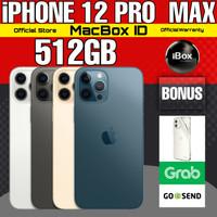 Apple iPhone 12 PRO MAX 512 GB 512GB Blue Graphite Gray Resmi iBox