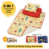3in1 Set Bantal Guling Bayi Anak Set POMPALINA BGS-123 bantal Boneka