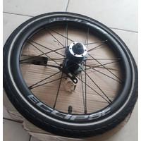 wheelseat copotan troy 0km rim 16+ include ban luar dalam set