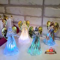 Souvenir Angel LED Pajangan Lampu Sayap Malaikat Kado Souvenir Natal