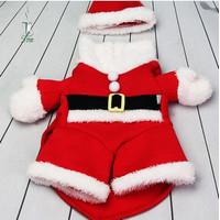 Kostum Santa Claus untuk Anjing/ Baju Anjing Tema Natal - M