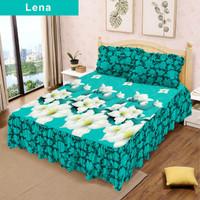 Sprei Lady Rose RUMBAI Uk 180x200 motif Lena