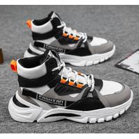 TBIG [COD] Sepatu Pria High Top Sakteboot Sepatu Sneakers Import Pria
