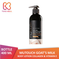 MuTouch Goat's Milk Body Lotion Collagen and Vit E 400 ml