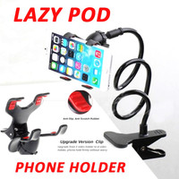 Stand HP Meja Jepit Desk Phone Holder Handphone Lazypod K2-645