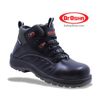 Pristine Ankle Boot - 9236 - S2 - Hitam - Dr.OSHA Safety Shoes