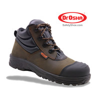 Elite Ankle Boot - 9236 - S1 - Brown - Dr.OSHA Safety Shoes