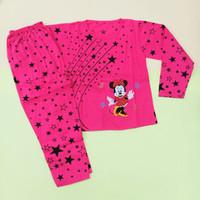 Baju tidur anak perempuan Mickey Mouse Jumbo 7-12thn