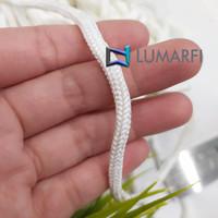 Tali Kur / Kor / Koor / Cord 5 mm Putih / Tali Tas Serut