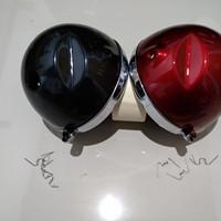 Batok lampu cb 125 besi import merah hitam