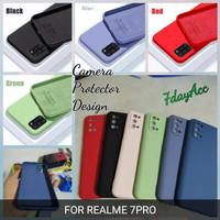 softcase realme 7 pro case anti noda silicon bahan lentur cover realme