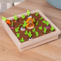 Memory game pull out radish mainan edukasi anak montessori