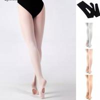 Stocking balet convertible tight, stock menari anak & Dewasa
