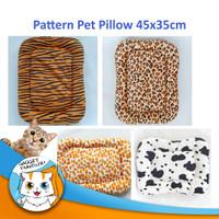 Patterned Pet Pillow - Bantal Tempat Alas Tidur Anjing Kucing Motif