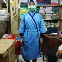 Baju pasien piyama rumah sakit