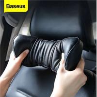 Baseus First Class Car Headrest Bantal Tidur Leher Mobil Cushioning