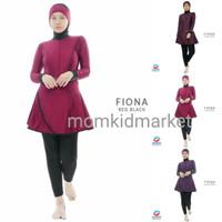 Baju Renang Muslimah Syari Jilbab Turban Fiona ori Edora
