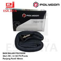 Ban Dalam Polygon 26 x 1.90 - 2.125 FV Presta 48mm Inner Tube Sepeda