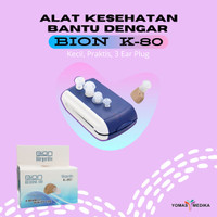 Alat Bantu Dengar AXON ITE K80 K-80 Hearing Aid Kecil TANPA Kabel